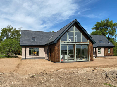 Development Funding for a Guest House Retreat in the Scottish Highlands