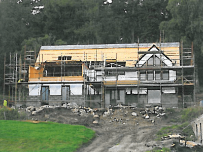 Urgent Development Funds to Complete a House in Rural Scotland