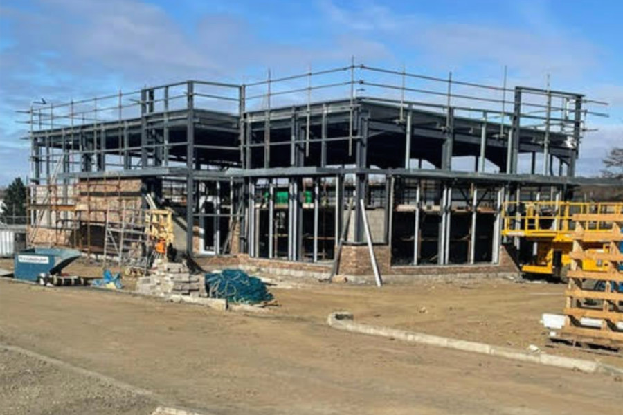 Funding in Six Stages to Build a Retail Park