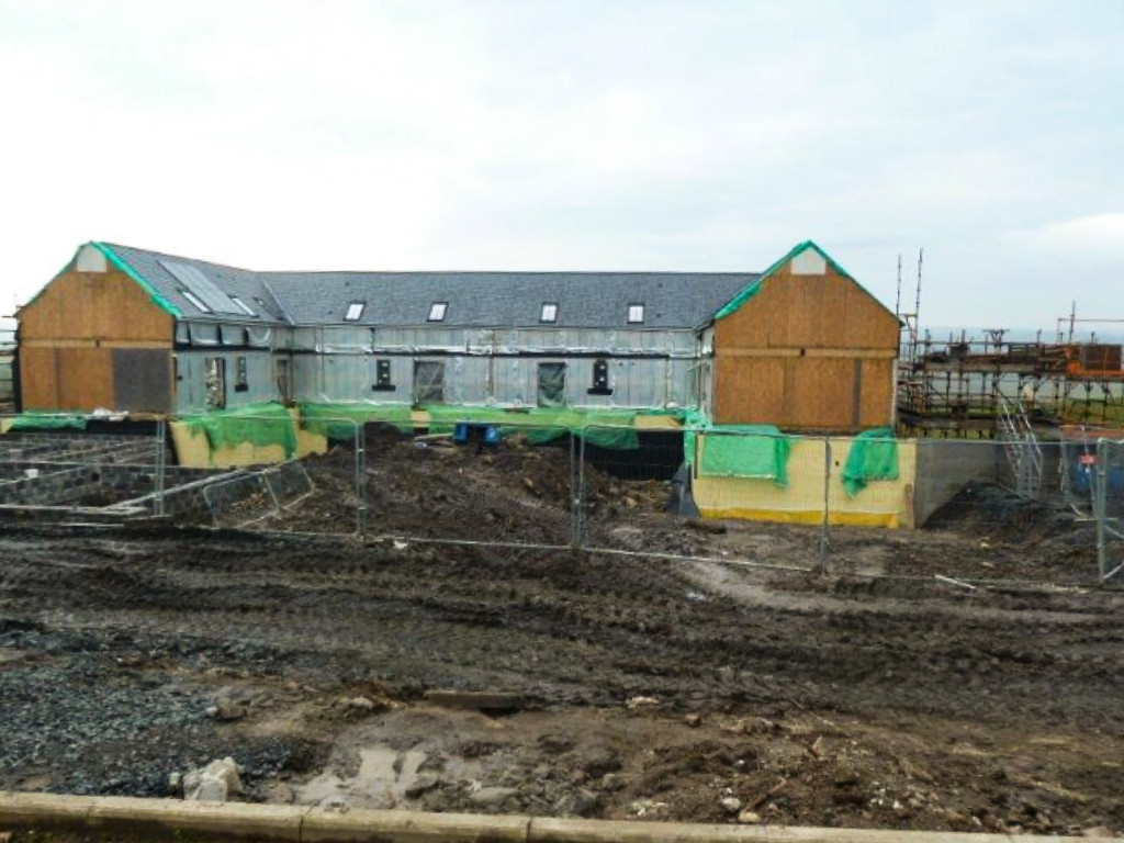 Development Funding to Pay Off Existing Lender and Progress Works